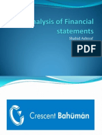 Analysis of Financial Statements (2)