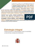 Estrategia integral contra el racismo, la discriminación racial, la xenofobia y otras formas conexas de intolerancia