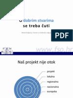 Upravljanje projektima  - širenje rezultata projekta