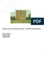 Report - McDonald's Corporation