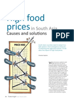 High Food Prices in South Asia