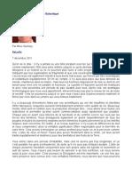 Message de La Fédération Galactique - Mike Quinsey - SaLuSa - 7 décembre 2011