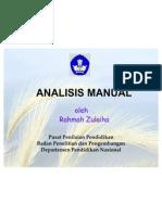Analisis Manual