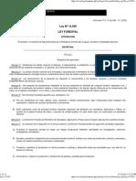 Ley 15939 ley forestal