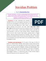 the dravidian problem