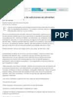 Las primeras señales de adicciones se advierten en el aula - 09.12.2011 - lanacion.com
