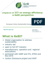 impacts of ict on energy efficiency