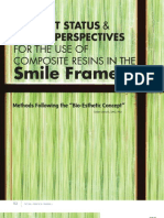 Journal of cosmetic dentistry Fall 2011 / Article by Prof. Dr. Didier Dietschi