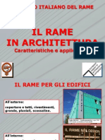 Rame in Architettura