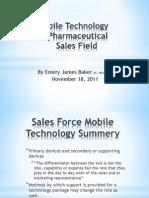 Mobile Tech Pharma Sales