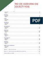 Listado Registro de Convenios Colectivos (Actualizado a Octubre 2011)