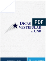 Dicas Vestibular UnB - Maristao