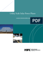 Utility Scale Solar Power Plants