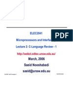 Lect02 C Language 1