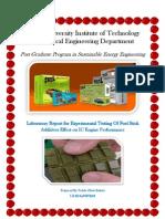 Ren.energy Lab Report II