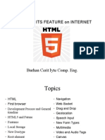 Html5 Feature of Internet