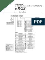 Conectores Series Kq2 Smc