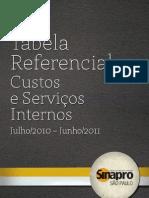 TabPrecos2010 - SINAPRO