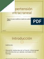 Hipertensión intracraneal