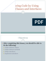 Abstract Class Interface