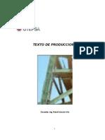TEXTO DE PRODUCCION