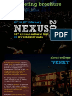 Nexus 2012 - Marketing Brochure