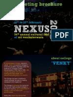 Nexus 2012 - Marketing Brochure