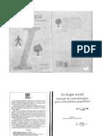 Libro Ecología Social