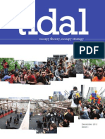 TIDAL Occupy Theory Occupy Strategy