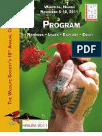 The Wildlife Society Conference Program