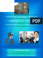 3 Bed apartment - TD9