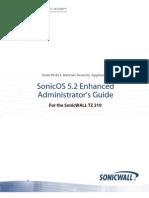 SonicOS Enhanced 5.2 TZ 210 Administrators Guide