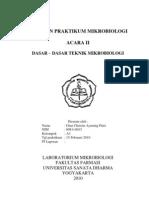 Dasaf-dasar teknik Mikrobiologi