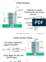 Power Screws