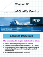 Chap 17 Statistical Quality Control