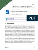 Apuntes_Reactividad y equilibrio químico I