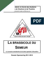 Le Semeur -Brassicole Dossier Sponsoring Finance 2012
