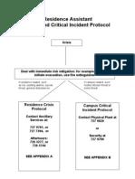 Critical Incident Protocol
