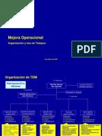 Organizacion y Uso de Tiempos