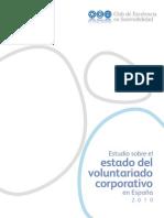 Estudio sobre el estado del voluntariado corporativo en España 2010