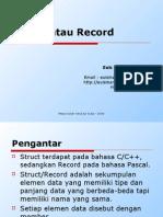 Materi 4 - Struct Atau Record