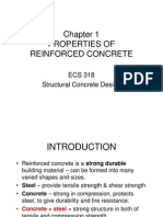 Properties of Reinforced Concrete