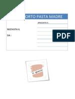 Passaporto Pasta Madre