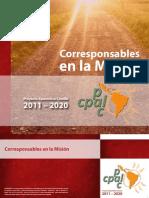 Proyecto Apostólico Común (PAC) 2011-2020