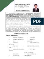 Curriculum Vitae Zumel Kevin