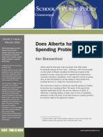 Alberta Spending