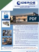 SIDEROS Engineering - Product Offerings