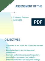 Abdominal Assessment 3