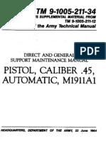 45CalPistol M1911A1_TM9-1005-211-34