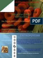 Presentacion de Eritrocitos Pato Clinica